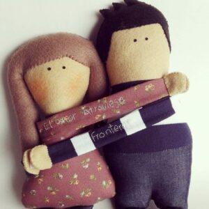 Enamorados_parejas_Novios_Mucharejo_muñecos_de_tela_hecho_a_mano_regalos_especiales_Novios_Enamorados_muñecos_personalizados